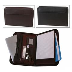 Bond Street, Leather Look Tablet - iPad Case with Writing Organizer
