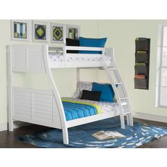 Easton White Bunk Bed-ships in 4 cartons