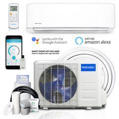 Advantage 3rd Gen 9,000 BTU 3/4 Ton Ductless Mini Split Air Conditioner and Heat Pump - 230V/60Hz