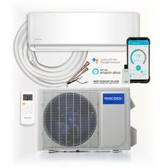 MRCOOL DIY 18,000 BTU Ductless Mini Split AC and Heat Pump with Wireless-Enabled Smart Controller