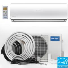 Olympus Hyper Heat 24,000 BTU 2 Ton Ductless Mini Split Air Conditioner and Heat Pump - 230V/60Hz