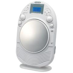 AM/FM Stereo Shower Radio/CD with Mirror