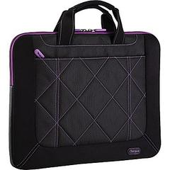 "Targus 16"" Pulse Slipcase Blk/Purple"