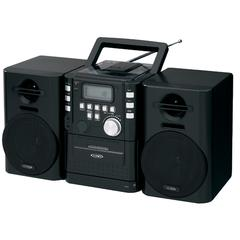Portable CD Music System with Cassete/FM