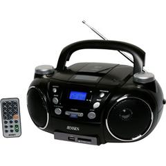 Jensen AM/FM/MP3 Boombox with USB port SDslot