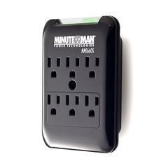6 Outlet Wall Tap Surge Suppressor, 540J
