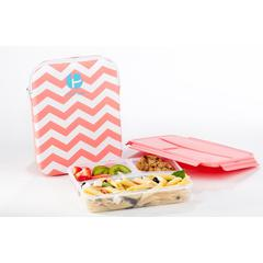 Sleeved Lunch Container - Chevron