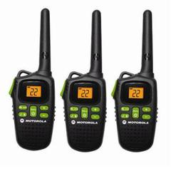 Motorola 20 Mile Triple Pack Rechargeable