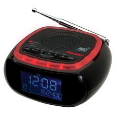 First Alert AM/FM Weather Band Clock Radio with S.A.