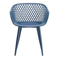 Piazza Outdoor Chair Blue-Set Of Two