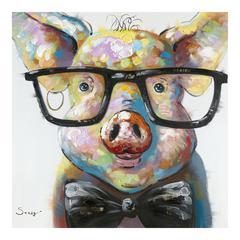 Smart Pig Wall Décor