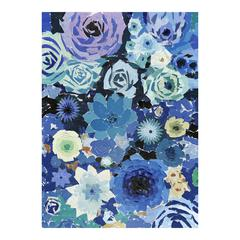 Blue Flowers Wall Décor
