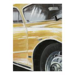 Classic Sportscar White Wall Décor