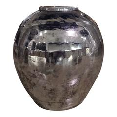 Sphere Vase Silver