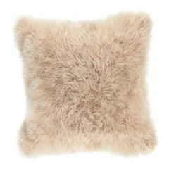 Cashmere Fur Pillow Cream