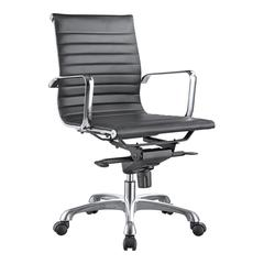 Omega Office Chair Low Back Black-Set Of Two