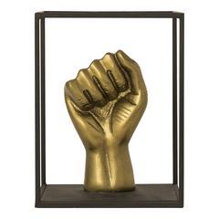 Bronze Fist Sculpture