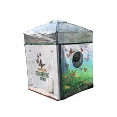 "Tool-Free Classic Sienna 4' x 4' Backyard Butterfly Nursery - 1"" profile"