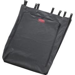 Rubbermaid Commercial 30 Gallon Premium Linen Hamper Bag - 30 gal - Black - Polyvinyl Chloride (PVC) - 1Each - Waste Disposal