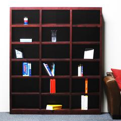Concepts in Wood 72 x 84 Wall Storage Unit, Cherry Finish