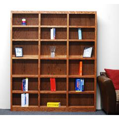 Concepts in Wood 72 x 72 Wall Storage Unit, Dry Oak Finish