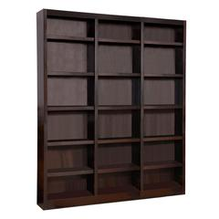Concepts in Wood 72 x 84 Wall Storage Unit, Espresso Finish