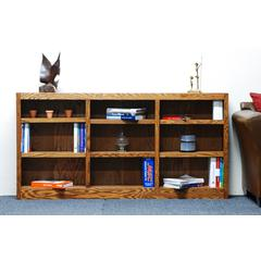 Concepts in Wood 72 x 36 Wall Storage Unit, Dry Oak Finish