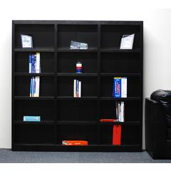 Concepts in Wood 72 x 72 Wall Storage Unit, Espresso Finish