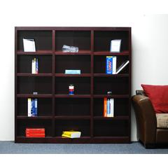 Concepts in Wood 72 x 72 Wall Storage Unit, Cherry Finish