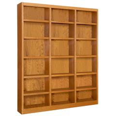 Concepts in Wood 72 x 84 Wall Storage Unit, Dry Oak Finish