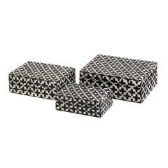 Lizzie Bone Boxes - Set of 3