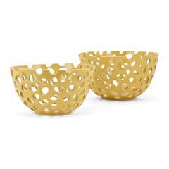 Alya Decorative Bowls - Set of 2