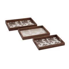 Trisha Yearwood Cowboy Trays - Set of 3