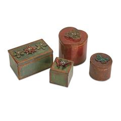 Ellie Decorative Boxes - Set of 4