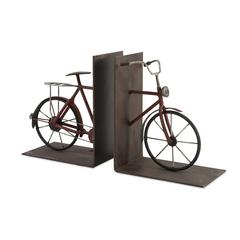 Renee Bicycle Bookends - Set of 2