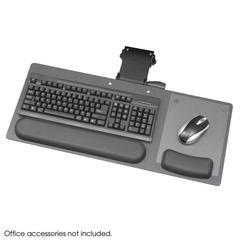 """Ergo-Comfort® Articulating 28"""" Keyboard/Mouse Arm Black Granite Fleck"""