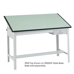 "Precision Table Top, 60 x 37 1/2"" Green"