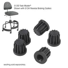 Task Master® Tubular Base Inserts Black