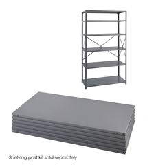 36 x 24 Industrial 6 Shelf Pack Gray