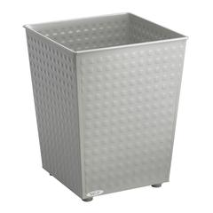 Checks Wastebasket (Qty. 3) Gray