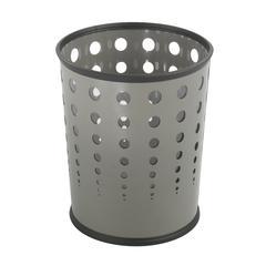 Bubble Wastebasket (Qty. 3) Gray