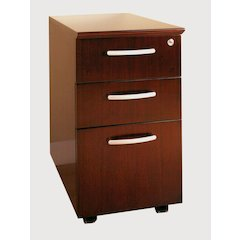 Mobile Pedestals Box-Box-File, Sierra Cherry