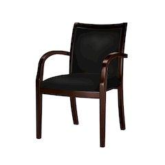 Wood Guest Seating - 2/Ctn, Mahogany