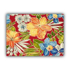 PARADISE Indoor/Outdoor Placemats - Finished Edge (Set of 2)