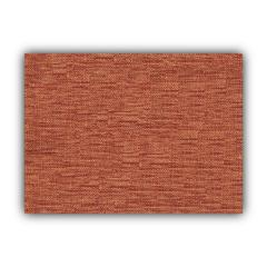 BOHO SEA Burnt Red Indoor/Outdoor Placemats - Finished Edge (Set of 2)