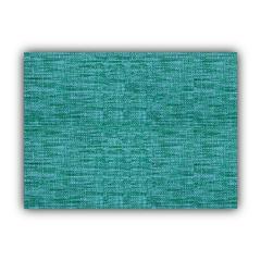 BOHO SEA Aqua Indoor/Outdoor Placemats - Finished Edge (Set of 2)