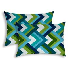 COOL Indoor/Outdoor Pillow - Sewn Closure (Set of 2)