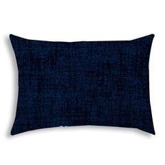 WEAVE Navy Indoor/Outdoor Pillow - Sewn Closure