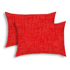 WEAVE Coral Indoor/Outdoor Pillow - Sewn Closure (Set of 2)