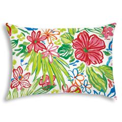 TROPICAL MEDLEY Indoor/Outdoor Pillow - Sewn Closure